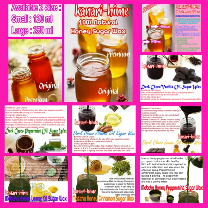 10 varian sugar wax Manfaat Sugar Wax