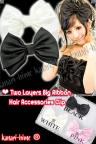 Two Layers Big Ribbon Hair Accessories Clip