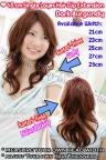 45cm Single Layer Hair Clip Extension